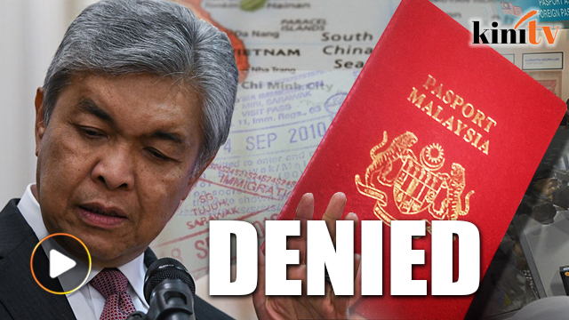 Image result for Zahid Hamidi - Passport Return Appeal Denied
