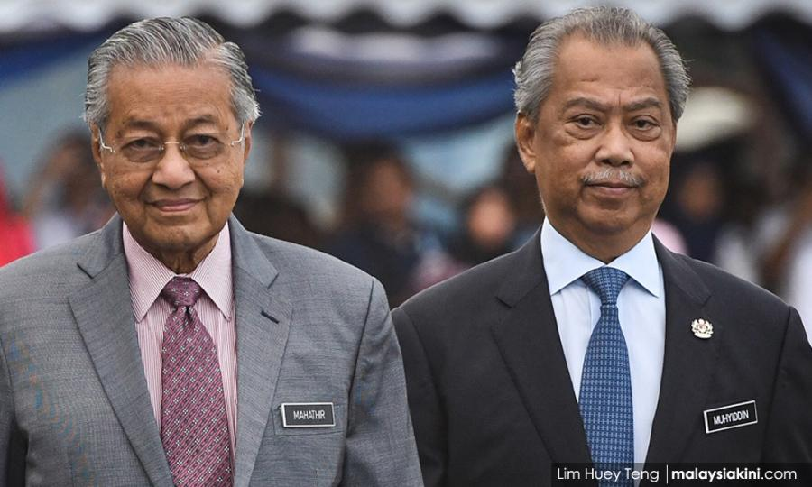"Malaysiakini - 慕尤丁说,马哈迪已""berhenti""……"