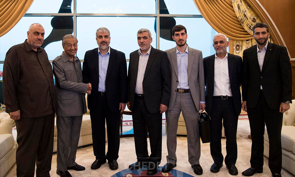 Malaysiakini Hamas Leaders Meet Dr M To Convey Situation In Palestine