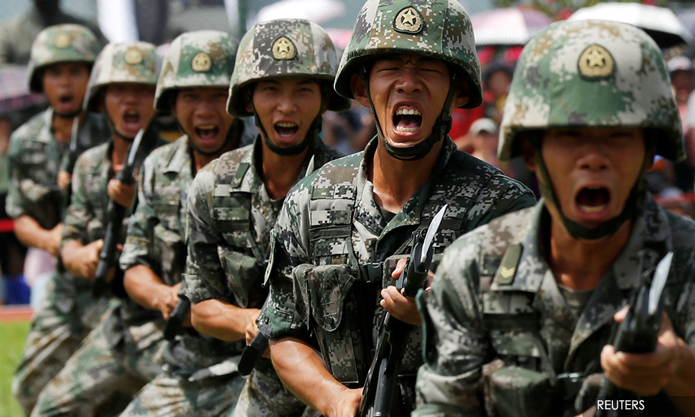 China quietly doubles troop levels in HK, envoys say