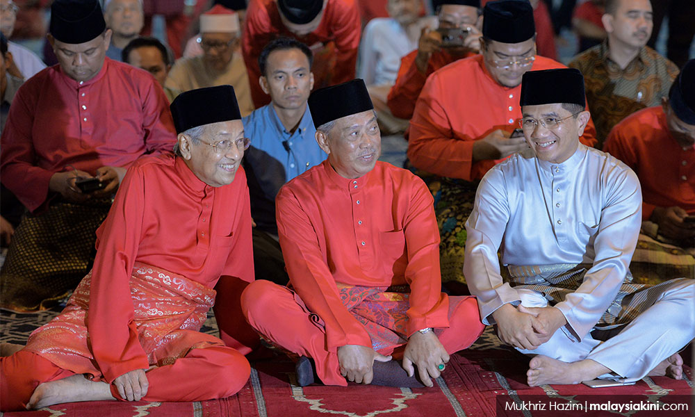 Image result for images of azmin at Bersatu anniversary