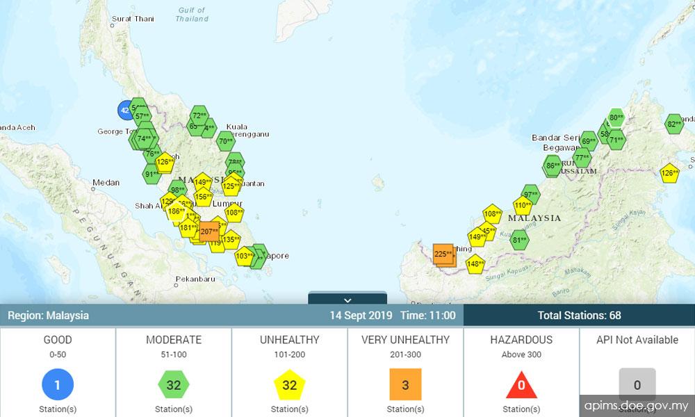 Malaysiakini Jerebu 33 Lokasi Udara Cemar Memburuk Ipu Tak Sihat