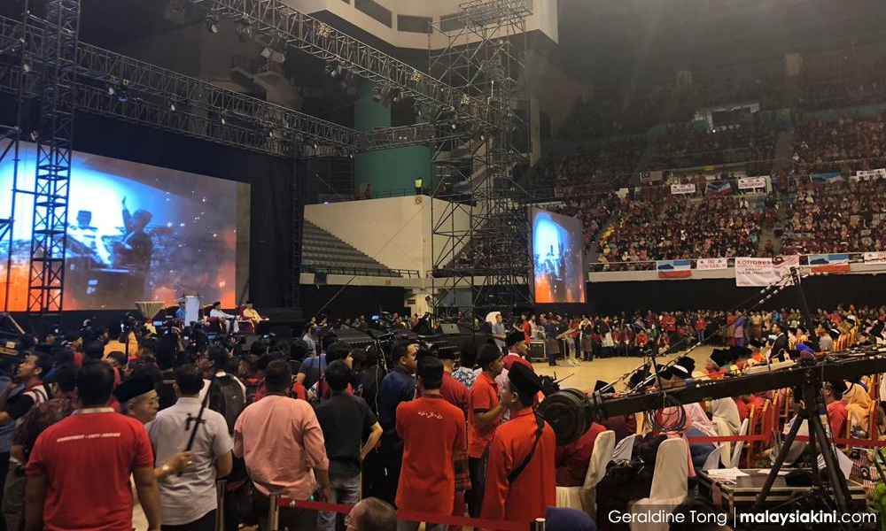 MALAYSIA BELONGS TO THE MALAYS - 'THIS IS OUR LAND, IT IS UNDER OUR CARE,' SHOUTS MALAY UNITY CONGRESS IN HATE SPEECH DEPLORED BY THE OTHER CITIZENS YET MAHATHIR DECLARES 'NOTHING RACIST' ABOUT IT