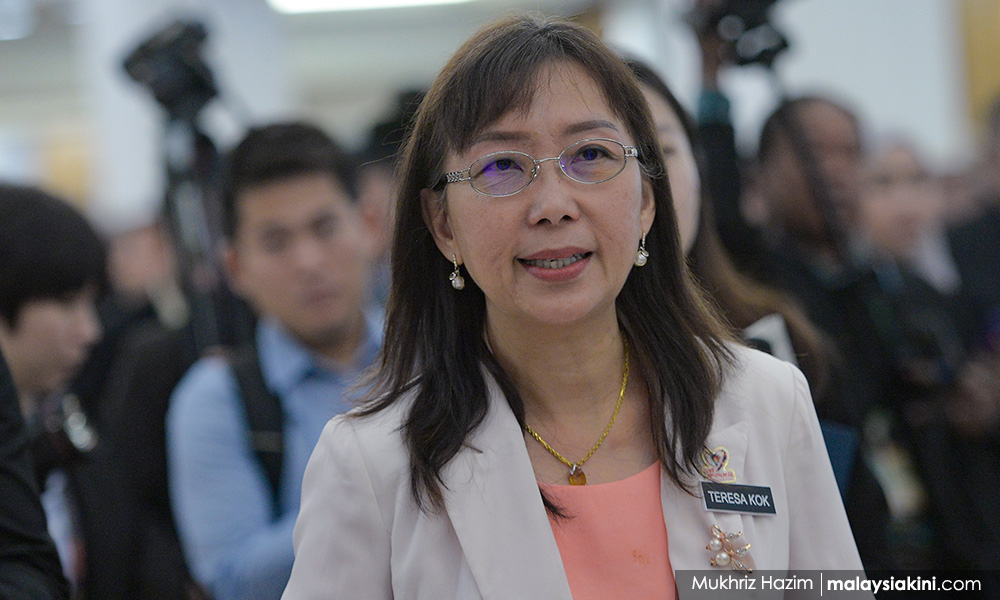 dc6453432b464c5ba81dfe3bcde5b9fa Teresa Kok remark - lawyers grill Pasir Salak MP in suit against three